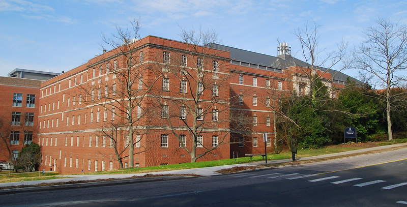 This is the opposite side of the BioSci building.