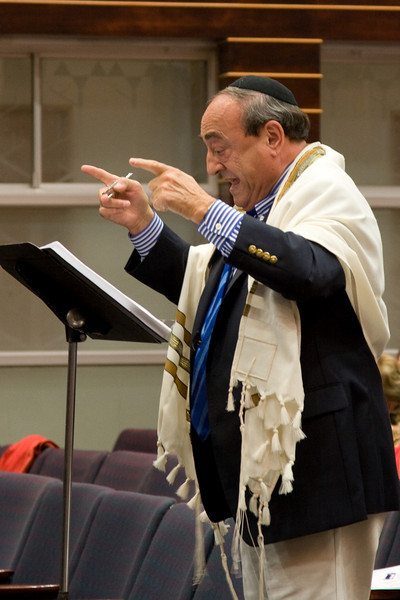 Hazzan Abraham Lubin -- Siyum HaTorah -- Beth El's Project 613: Writing a Torah