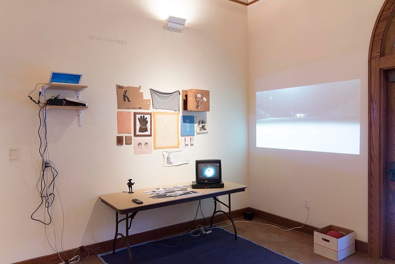 BFA & BA Senior Portfolio Exhibition Fall 2014, Installation View