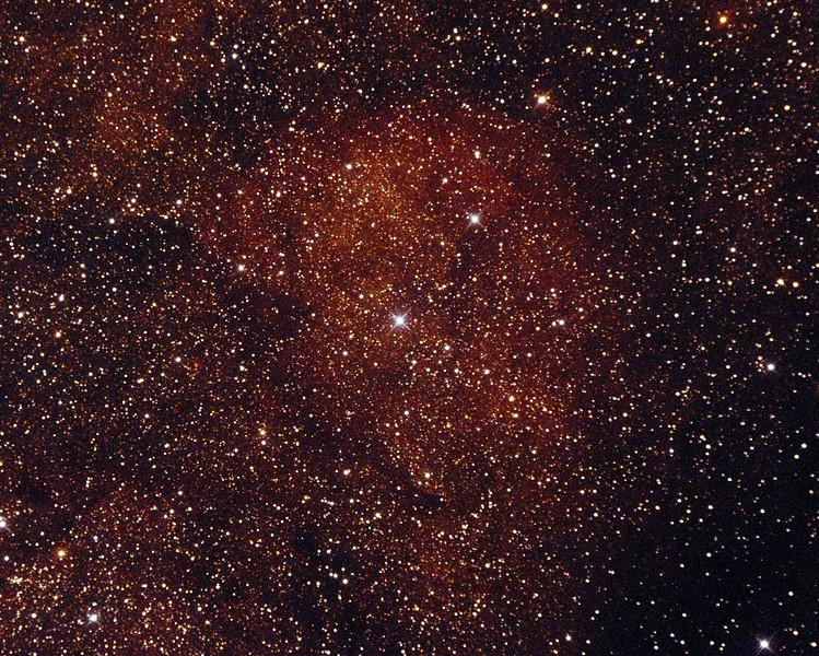 Gum68 Nebula in Scorpius - 23/9/2014 (Processed cropped single test image)