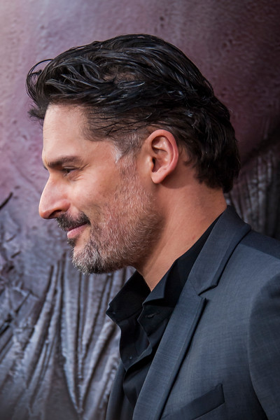 LOS ANGELES, CA - APRIL 04: Joe Manganiello arrives at the Premiere Of Warner Bros. Pictures' 'Rampage' at Microsoft Theater on Wednesday April 4, 2018 in Los Angeles, California. (Photo by Tom Sorensen/Moovieboy Pictures)