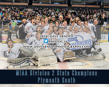3/18/2018 - Boys Varsity Hockey - Plymouth South vs Stoneham