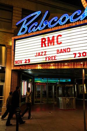 Jazz Band, Fall Concert (11-29-12)