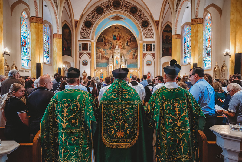 FSSP LatinMass St. Marys 3 priest procession 2-1.jpg