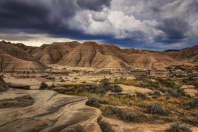 T - View from the Top, Toadstool, Nebraska by Nikki McDonald - 1st