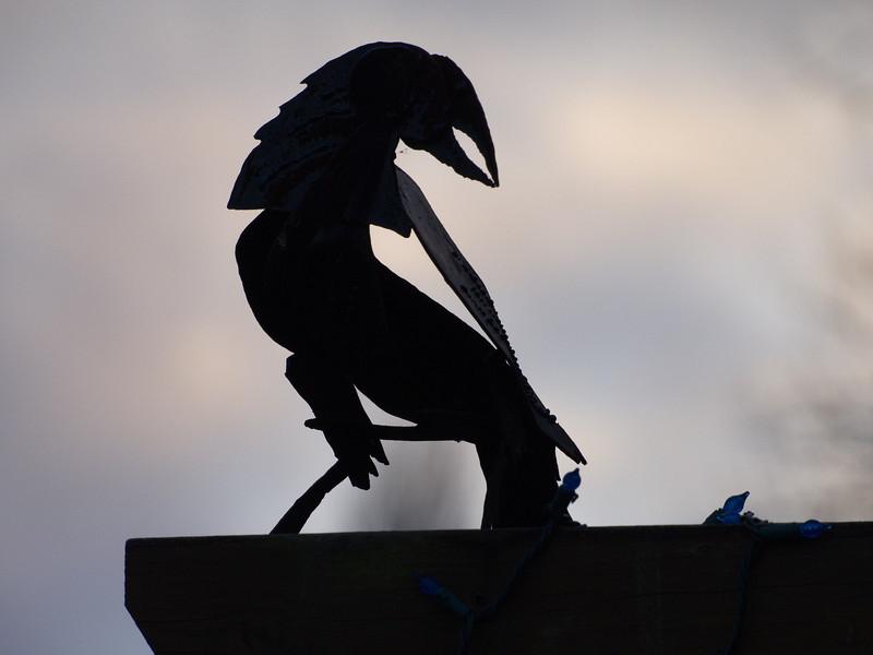 Raven by Port Townsend's Gunter Reimnitz. Stunning work