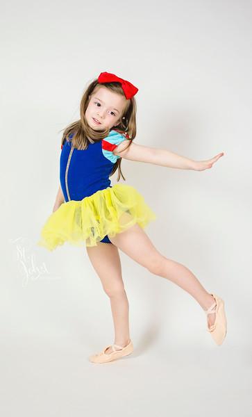 Madeline as a Snow White Ballerina