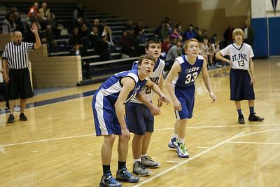 2013 St. Joe's vs St Paul Basketball