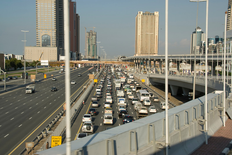 Shiek Zayed Highway - Dubai, UAE