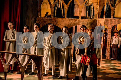 Hunchback of Notre Dame Production Photos