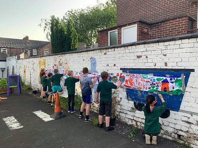 2019-06-28 The Cub's Wall Paintings