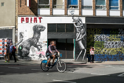 Mural near Old Street, London, United Kingdom