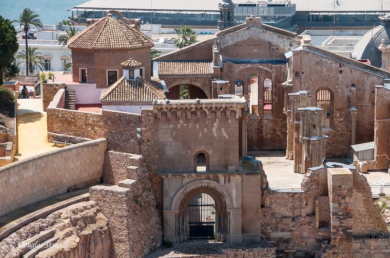 Cartagena, Spain - Views from Castillo de la Concepcion