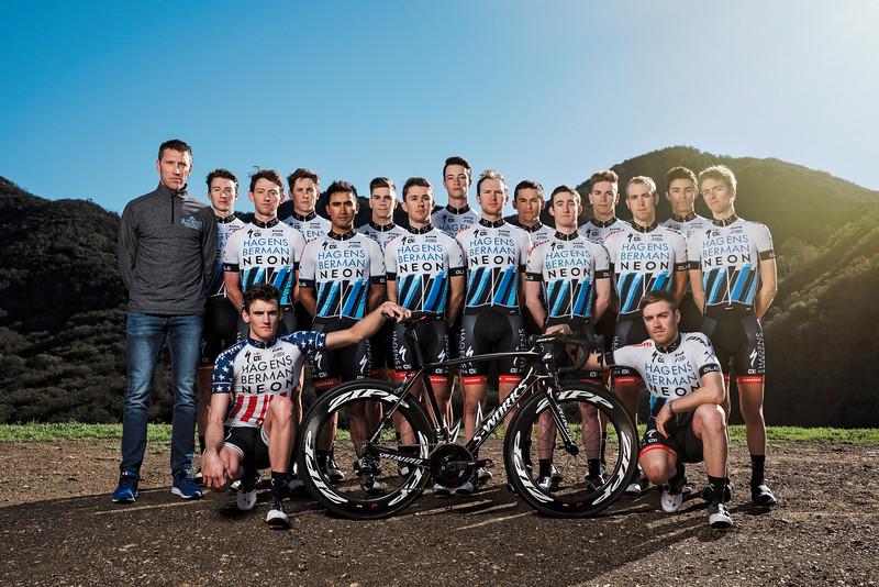 Axeon Hagens Berman Cycling Team - 2017 Promo Imaging