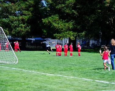 Mustang Soccer - 2010 - Team Revolution - Game 2