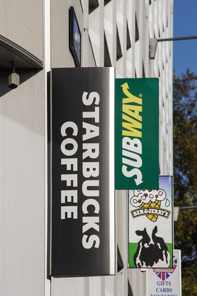 Starbucks, Subway, Ben & Jerry's