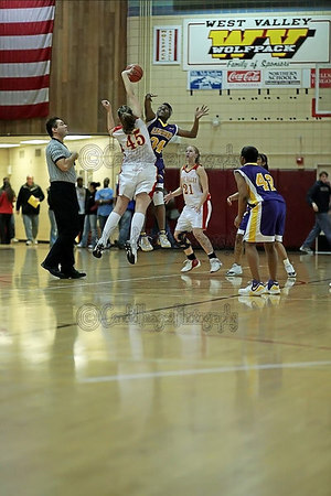 Basketball- Ladies West Valley vs Lathrop March 8, 2007