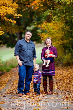 Megan, Addison & Family  - Color Photos