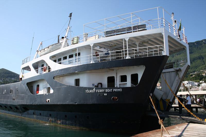 2008 - TOURIST FERRY BOAT PRIMO in Casamicciola.