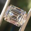1.83ct Vintage Emerald Cut Diamond GIA F VVS2 13