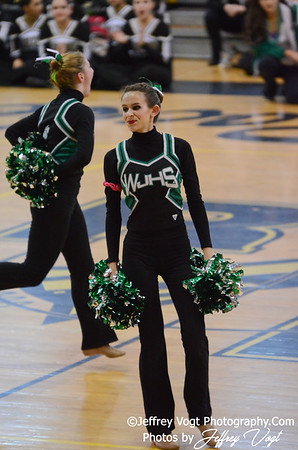 02-02-2013 MCPS Poms Championship Walter Johnson HS at Richard Montgomery HS Division 2, Photos by Jeffrey Vogt Photography
