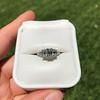 1.15ctw Emerald Cut Diamond Trilogy Ring 19