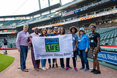 Donate Life - Detroit Tigers Appearance