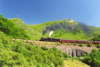 Steam on the Fort William to Mallaig Line