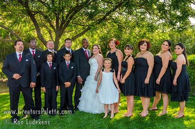 Heather & Khalfani Wedding Formal Photos