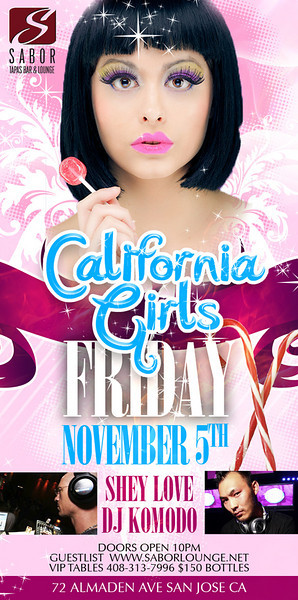 California Girls @ Sabor Tapas Bar & Lounge 11.5.10