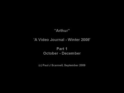 "2009-09-28 ""Arthur"" - Winter Cruising 2008"