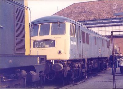 Crewe Works 1984