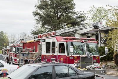 2016 - Townhouse Fire April 7, 2016