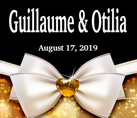 Guillaume & Otilia Wedding August 17 (Prints)