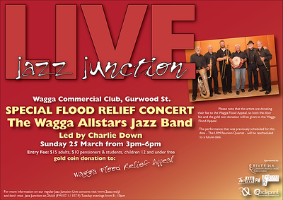 25/3/12 The Wagga All Stars - encore performance!