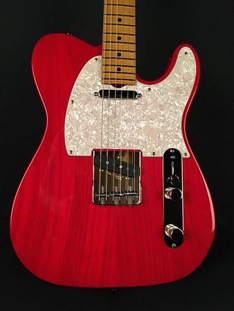 NOS Vintage T #3973, Trans Red, Grosh T/T Pickups