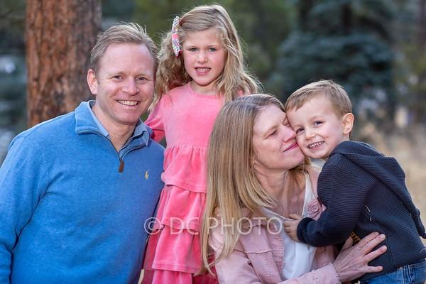 Shannon Paulson head shot and family 2.9.21
