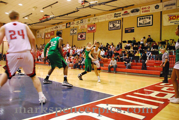 Basketball Jan 27 2009 Provo