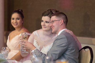 Reception- Danielle & Andy Bruno Wedding Photography- Holy Trinity Westfield, MA/ Chez Josef Agawam, Mass.