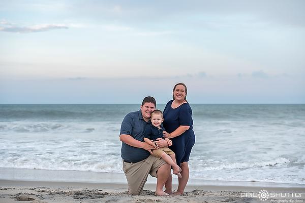 Cape Hatteras Photographer, Rodanthe Pier Family Portraits,
