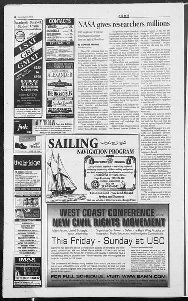 Daily Trojan, Vol. 153, No. 67, December 02, 2004