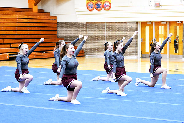 Middle School Competitive Cheer