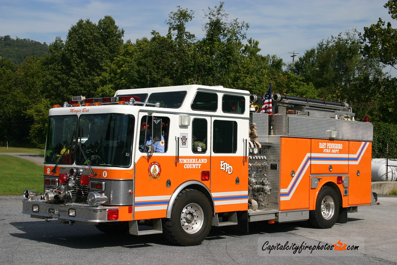X-Summerdale Fire Co. (East Pennsboro Township) X-Engine 20: 1992 HME/Grumman 1250/600   (** Taken out of service end of 2015, unknown disposition **)