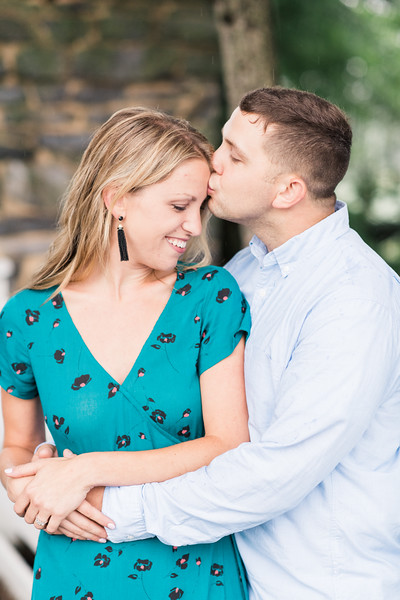 Gina and Zach's Engagement at Linwood Estate