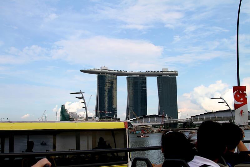 Singapore - July 2010 Marina Bay Sands