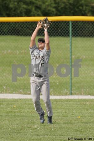 Western Boone vs Tri-West Baseball 5-5-11