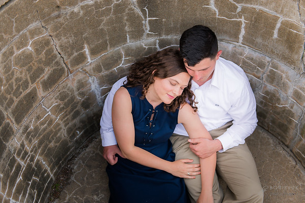 Fort Foster and Portsmouth Engagement: Emily & Patrick
