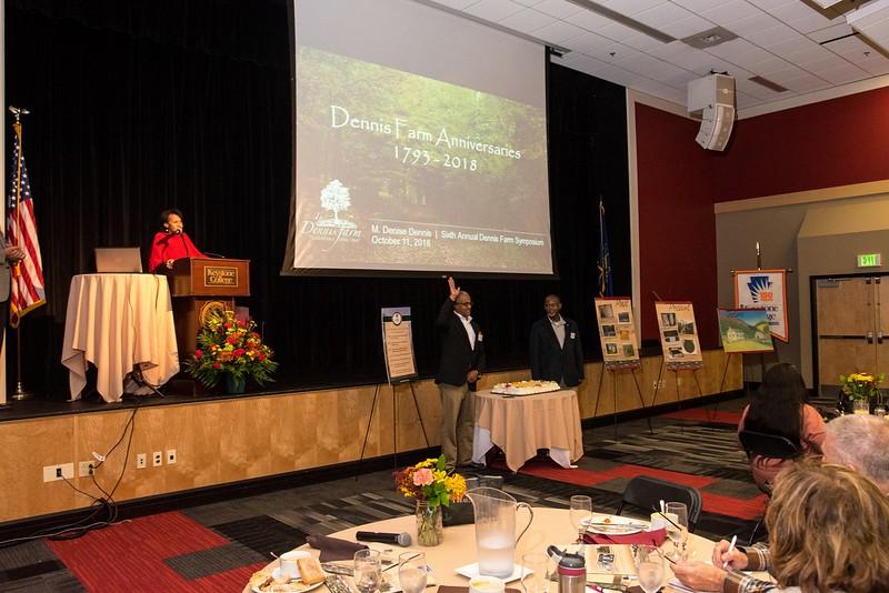 Oct 11, 2018 DFCLT-6th Annual Dennis Farm Symposium
