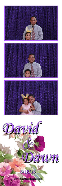 David and Dawn Wedding Photo Booth