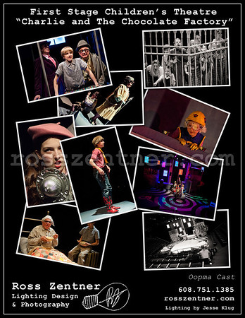 """First Stage Children's Theatre """"Charlie and the Chocolate Factory"""" Oopma Cast"""